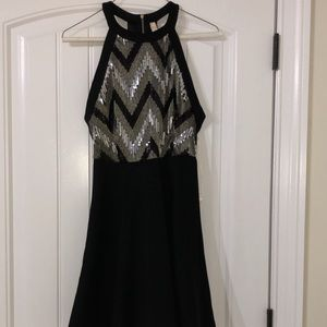 Fit and Glare Sequined Dress